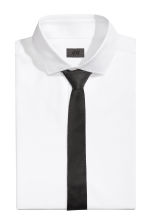 Textured tie - Black - Men | H&M CN 1